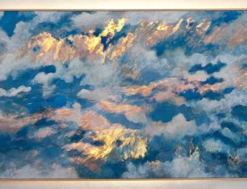Verlichte wolken